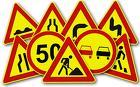 Дорожные знак по классу А, В, С