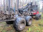 Лесозаготовительный форвардер VALMET 860.3