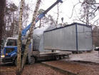 Услуги манипулятора для перевозки бытовок в Ярославле и ЯО