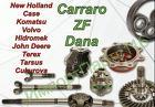 Запчасти Carraro, ZF, DANA Spicer, International