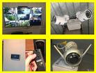 Установка камер видеонаблюдения, видеодомофонов