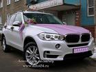 Прокат машин в Челябинске на свадьбу. BMW X5 NEW