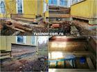 Замена венцов. Ремонт деревянных домов.