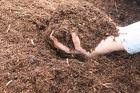 Органическое удобрение в мешках