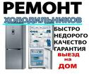 Срочный ремонт холодильников п. Сиверский