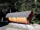 Баня-бочка 5 метров