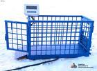 Весы для животных. Напольные весы для КРС ВП-С 5000 кг (5 тонн)