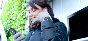 Перчатки Hi-Call, по которым можно разговаривать