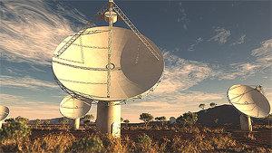 Астралийские астрономы запустили самый быстрый радиотелескоп ASKAP