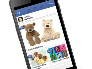 Facebook Gifts позволит отправлять реальные подарки
