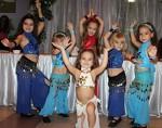 Восточные танцы для детей от четырёх лет