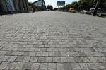 Брусчатка гранитная для мощения площадей, скверов, бульваров