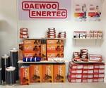 Теплый полы №1 из Южной Кореи Daewoo Enertec