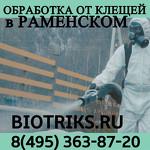 Проффесиональная обработка от клещей в Домодедово