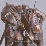 Скульптура на заказ от члена союза художников Евгения Буркова.
