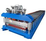 Оборудование для производства профнастила С18 Волна с эле. гильотиной
